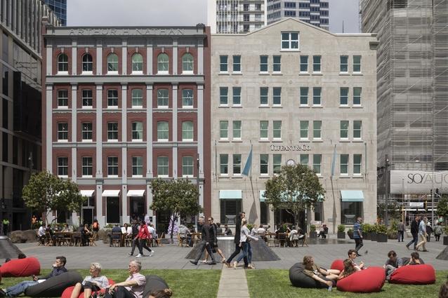 Heritage winner: Australis Nathan Building, Britomart by Peddle Thorp.