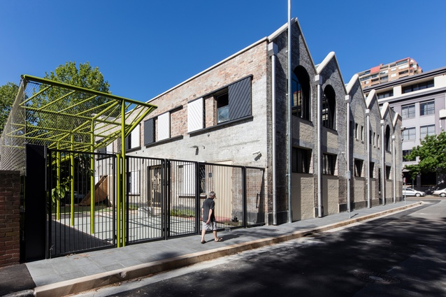 Juanita Nielsen Community Centre by Neeson Murcutt Architects in association with City of Sydney.