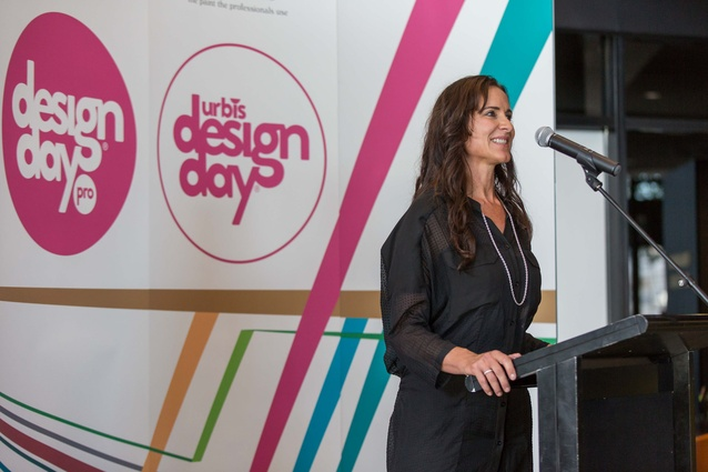 Jo Duggan of Resene (Designday Presenting Partner).