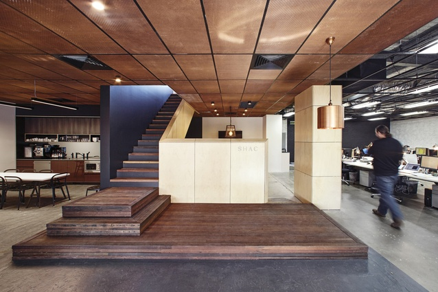 SHAC Offices Adaptive Reuse by SHAC.