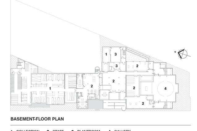 Basement-floor plan.