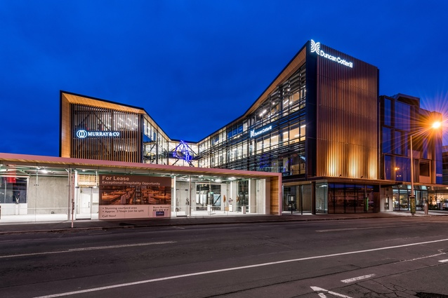 Commercial Architecture category finalist: Duncan Cotterill Plaza, Christchurch by MAP.