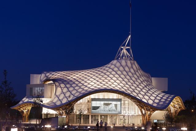 Centre Pompidou-Metz by Shigeru Ban Architects (Metz, France, 2010).