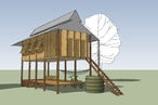 Students design/build project in Cambodia