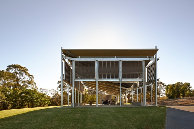 AGL Lakeside Pavilion by Kennedy Associates Architects.