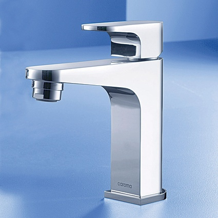 Caroma Track mini basin mixer.