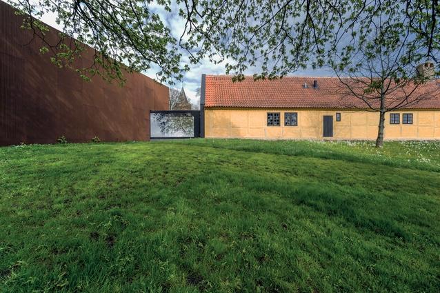 The new Danish Castle Centre at The Museum of Vordingborg.