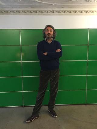 Martin Rein-Cano at the Topotek 1 studio in Berlin.