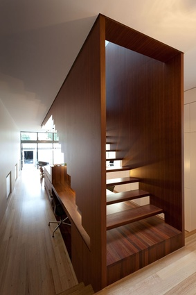 Residential Interior winner: Jarrah Block House by Silvester Fuller.