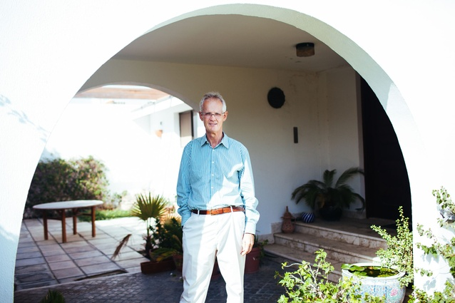 Architect Simon Crispe has lived in Dubai for over two decades.