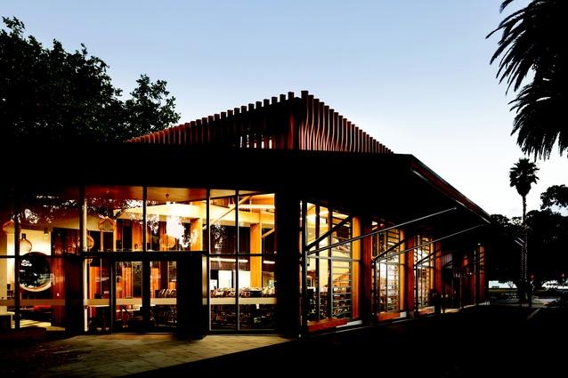 Public Architecture category finalist: Te Pataka Korero o Te Hau Kapua – Devonport Library, Auckland by Athfield Architects.