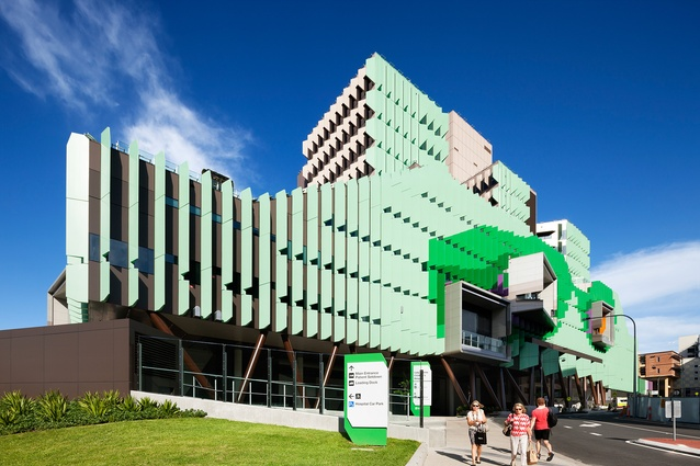 The Lady Cilento Children's Hospital in Brisbane designed by Conrad Gargett Lyons.