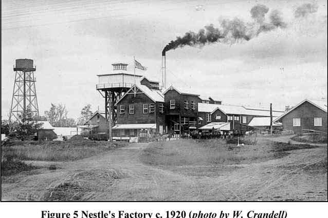 Nestlé condensed milk factory in Toogoolawah circa 1920.
