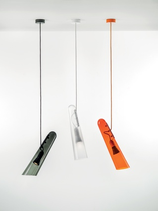 Design Junction: Collection of 'Flutes' pendants by Brokis.