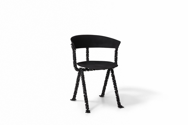 The Officina chair reinvented by Design by Toko for Chairity Project 2016.