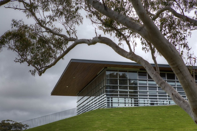 HMAS Creswell Gym by BVN Architecture.