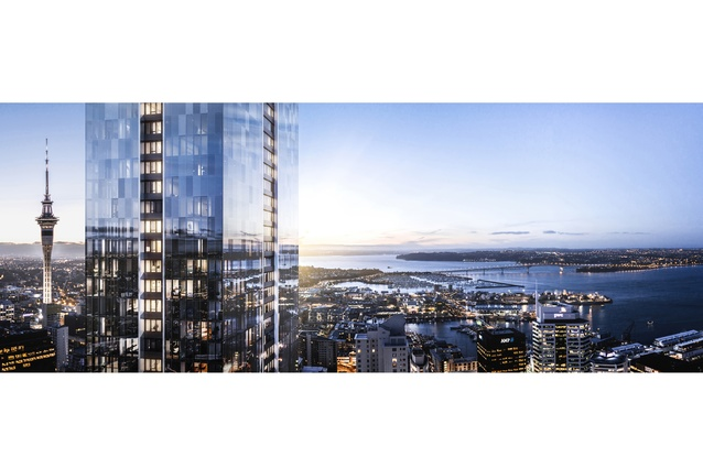 The exterior will also reflect the city and the views beyond.