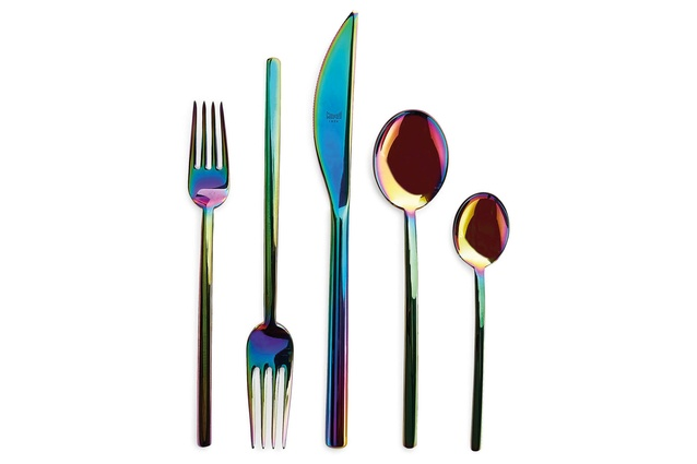 Iridescent 5-piece Flatware Set I $195 from 