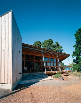John Wardle Architects' community centre at North Bruny Island emerged from a personal connection between the studio