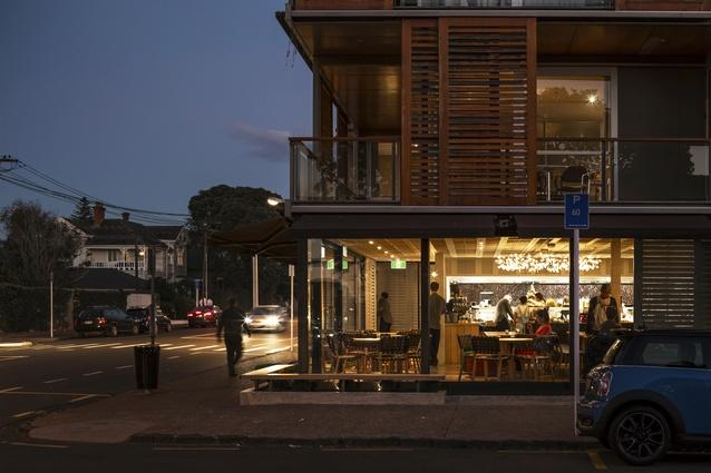 Interior Architecture Award: Rosie, Parnell by McKinney + Windeatt Architects.