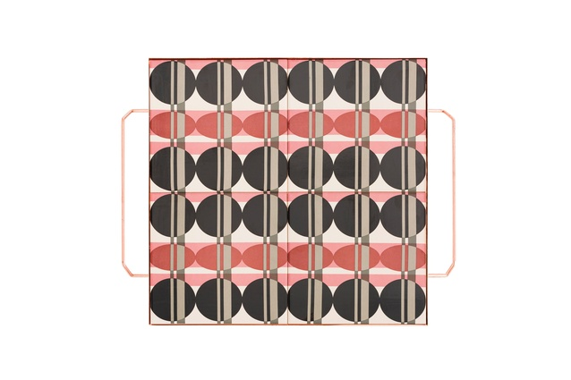 """Gan-Rugs Mix&Match Big Square Tray by Flavia del Pra I $POA from  <a  href=""""http://www.matisse.co.nz/products/Accessories/Home/mix-match"""" target=""""_blank""""><u>matisse.co.nz</u></a>"""