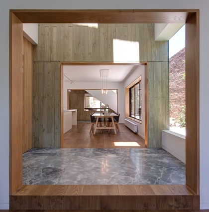 Stepping Stone House by Craig Tan Architects with collaboration on interiors with Custom Co.