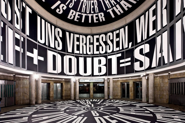 An exhibition at the Schirn Kunsthalle.