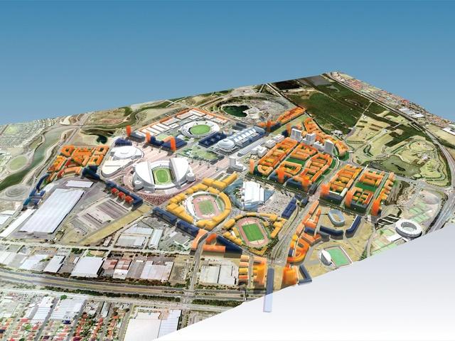 Sydney olympic park 2030 the city in a park architectureau for Landscape design courses sydney