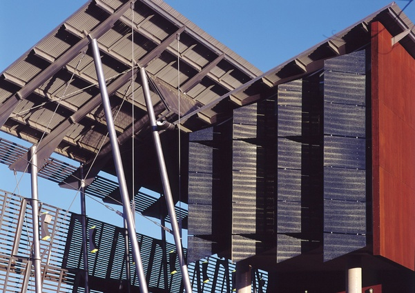 Opening: Sunshine Coast University Library, Maroochydore, Qld (1997), in association with John Mainwaring and Associates – 1998 RAIA Sir Zelman Cowen Award for Public Building.