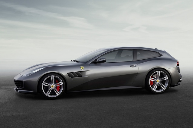 The GTC4 Lusso.
