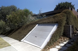 Garage + Deck + Landscape