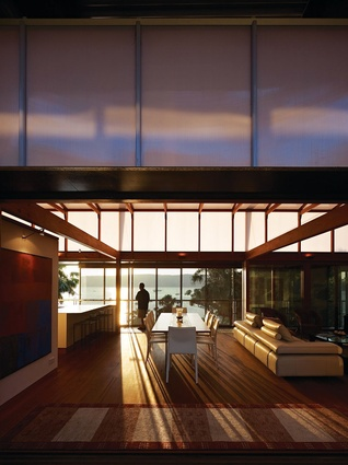 Cliff Face House (NSW) by Fergus Scott Architects and Peter Stutchbury Architecture.