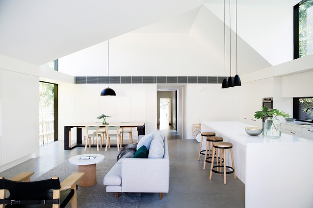 Allen Key House is named after the fact that its interiors are designed around standard IKEA joinery dimensions.