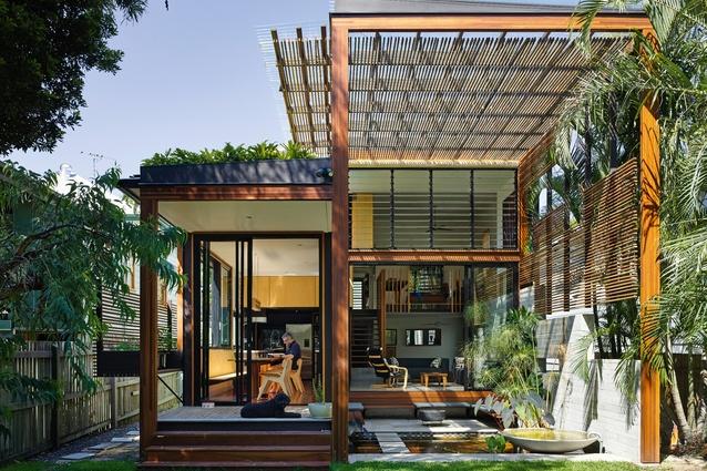 Light In Spades Garden House Architectureau