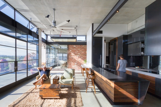TJ House by Ben Walker Architects (interiors) and Dezignteam (base building).