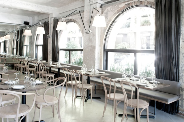 Best Restaurant: The Apollo by George Livissianis Interior/Architecture.
