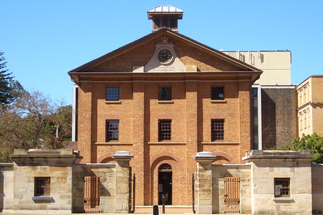 Hyde Park Barracks.