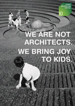 <em>We are not architects. We bring joy to kids.</em> by Cammi Tan, Andre Heng and Johnson Tay.