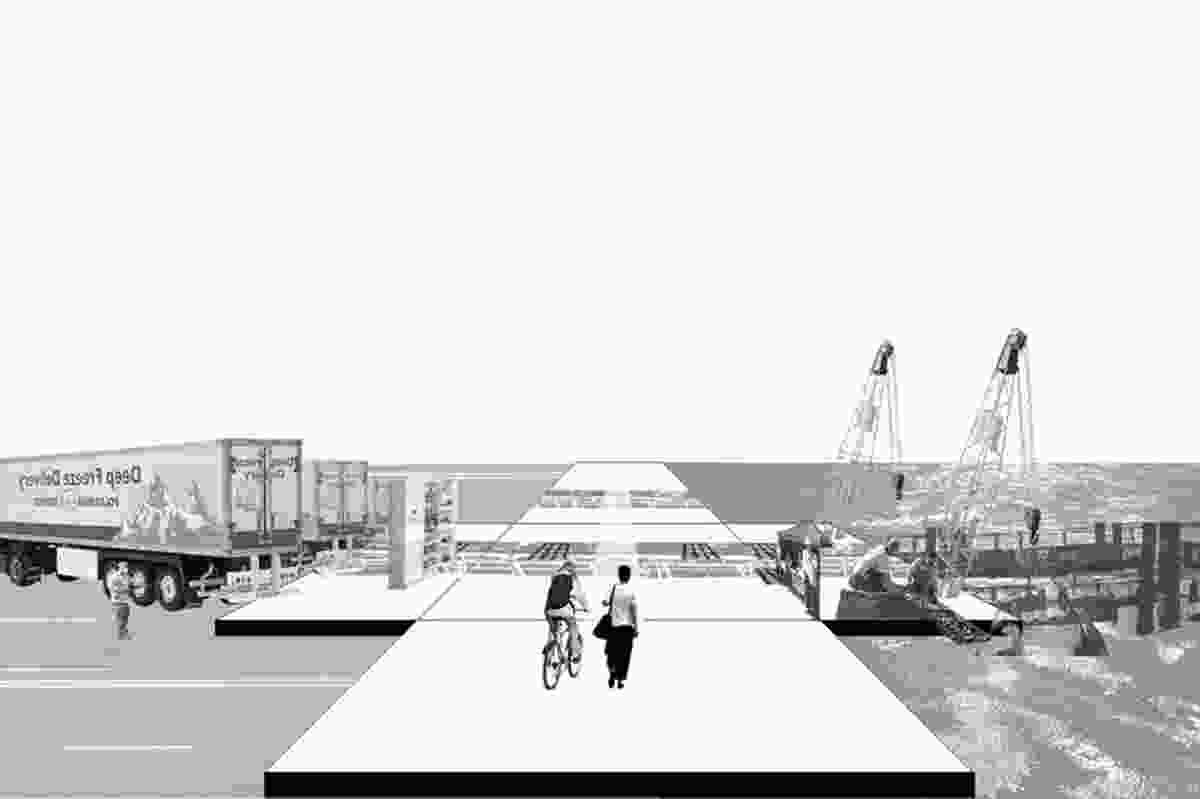 Special mention – Blackwattle Bay Oyster Farm by Sahlestrom Spence Studio.