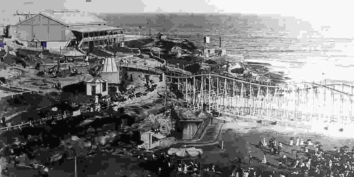 Wonderland aquarium and amusement park at Tamarama, 1890.