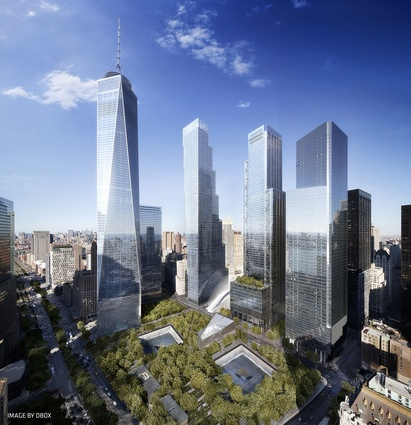 World Trade Centre Master Plan by Studio Daniel Libeskind.