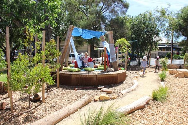 DECD Preschool Outdoor Learning Areas 2015 by JPE Design Studio.