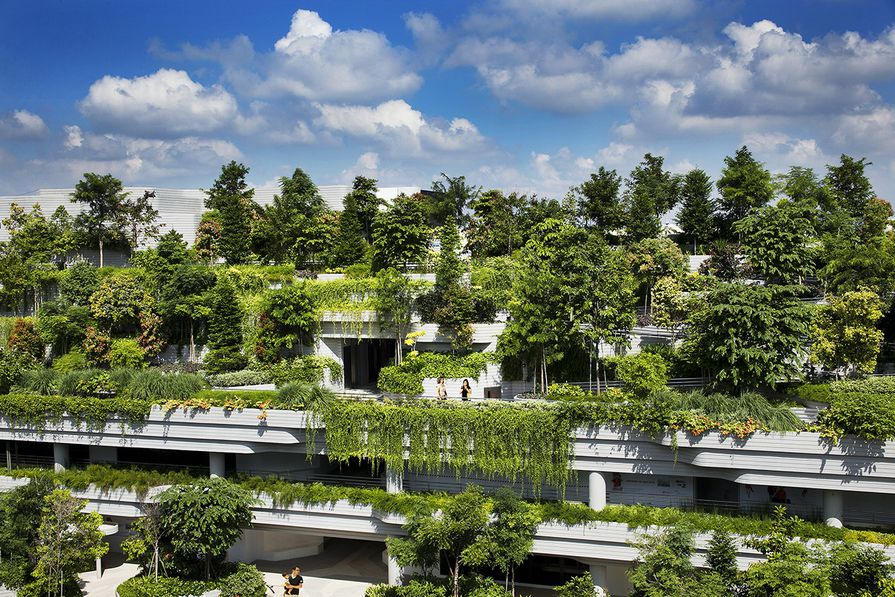 Kampung Admiralty by WOHA, winner World Building of the Year 2018.