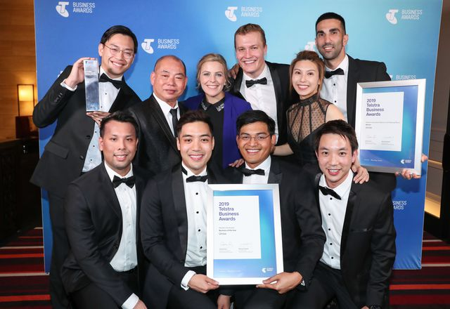 Commercial lighting company Unios has been named the 2019 Telstra Western Australian Business of the Year.