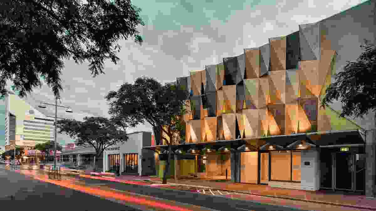 Victoria Street Hostel by Gresley Abas.