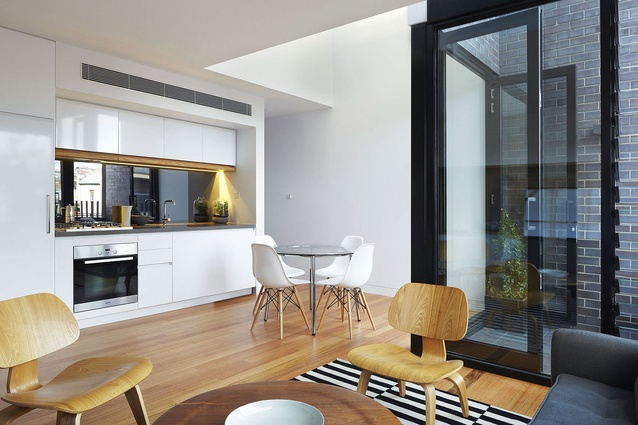 North Melbourne Townhouses by Freadman White Architects.
