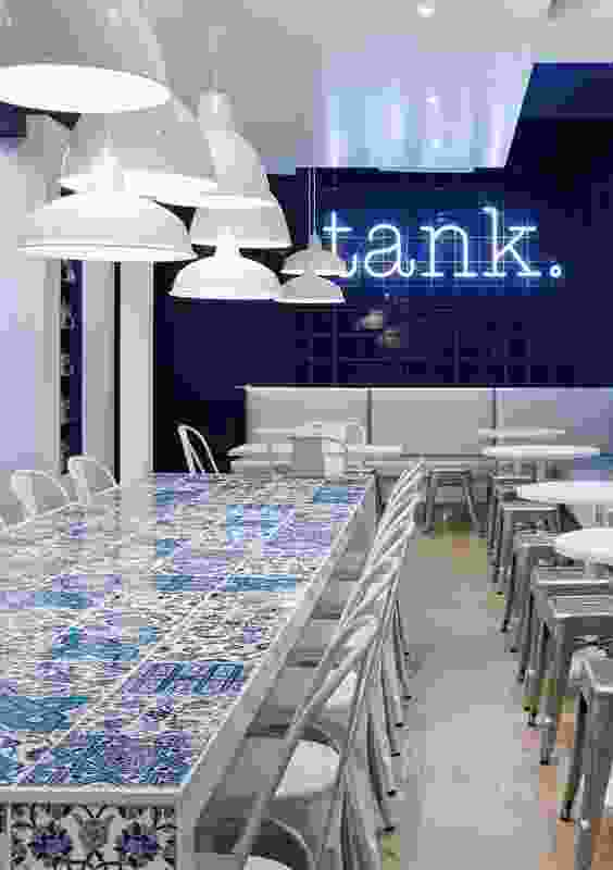 Hospitality Design – Tank by Anna Drummond Design.