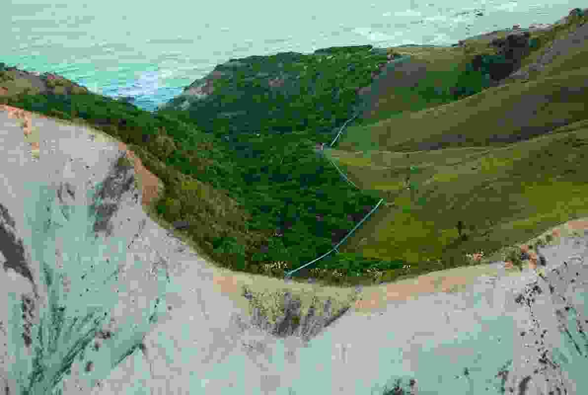 Orongo Station Conservation Masterplan by Nelson Byrd Woltz Landscape Architects.