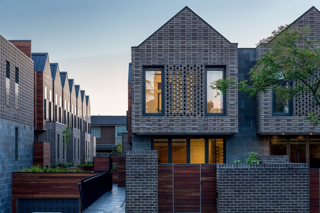 Barkers Road Townhouses by Kavellaris Urban Design.