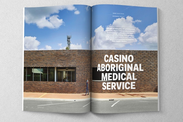 Casino Aboriginal Medical Service by Kevin O'Brien Architects in association with AECOM.